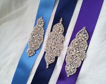 Purple Sash Belts Etsy