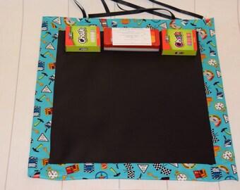 Chalk Mat, Blackboard, Travel Mat, Kids, Place mat, Chalk Board, Roll up Chalk Mat, Portable Chalk Mat, Play Mat, Travel Toy