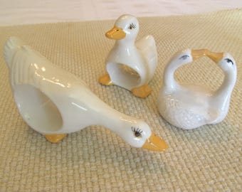 Eight Feathered Friends Napkin Holders