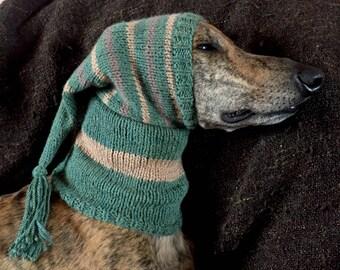 Greyhound tassel hat