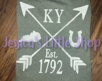 Kentucky Arrow Shirt - Screen Print
