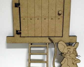 Mouse Pérez door Kit to decorate wood DM