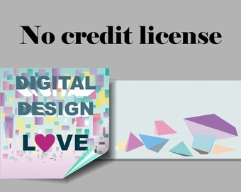 No Credit Small Commercial License digital papers