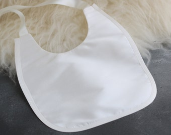 Silk Christening bib • Baptism bib • Christening accessories • Silk Bib • Baby bib • Girls bib • Boys bib • Blessing bib •
