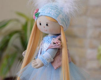 Collectible doll - Fairy Doll  - Art doll  -  OOAK doll - Hand made doll by Ilona Loik