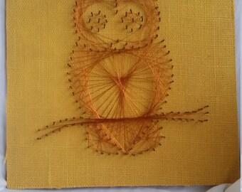 Copper Wire Owl Art