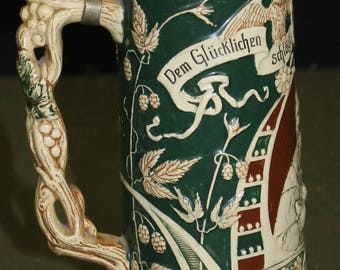 Large German Stein - VERY NICE!!