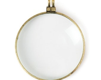 Magnifying Glass Pendant (STEAM088)