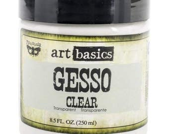Prima Marketing Art Basics Gesso, 250gr, Clear