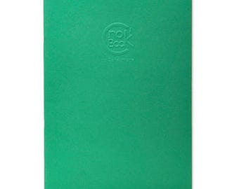 Crok'Book Staples A4 160g green Clairefontaine