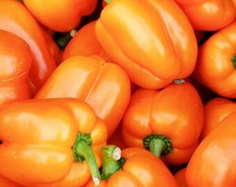 PEPPER SEED, Sweet - Gourmet Orange