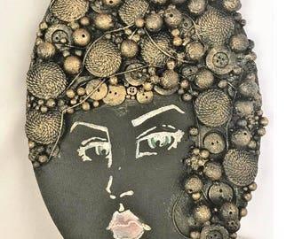 Steampunk Lady Canvas