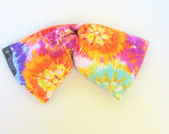 Eye Pillow,Yoga Pillow, Migraine Hot Pack, Sinus Pain Relief, Microwave Hot Cold Pack, Tie Dye Cotton Flannel Hot Pack,Spa/Relaxation Gift