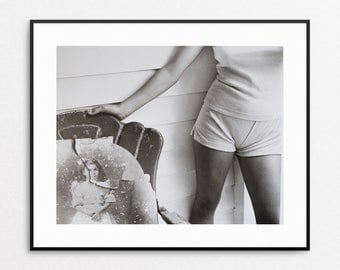 Sally Mann  - At Twelve - Vintage Book Page - Black and White Photography - Women Photographers - Sally Mann Photo - Sally Mann Print