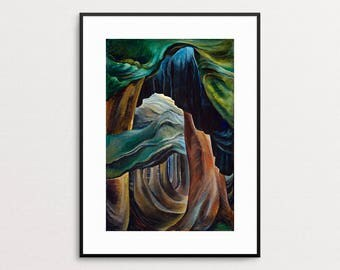 Emily Carr - Forest, British Columbia ,1931  - PNW Wall Art - Canada - Trees - Forest Painting - Modern Art Print - Pacific Northwest Art