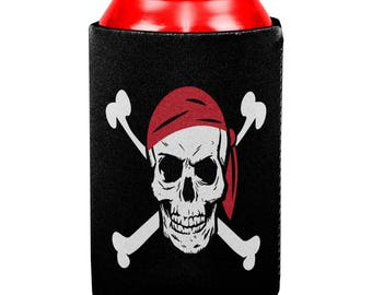 Jolly Roger Can Cooler