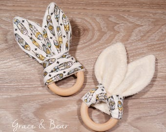 Baby Gift // Natural Wooden Teether