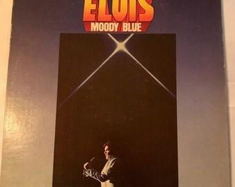 Elvis Moody Blue Vinyl Record