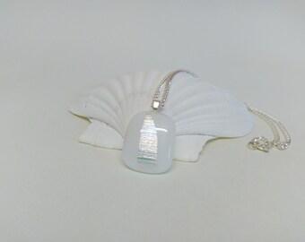 White Dichroic Pendant