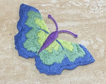 BUTTERFLY Embroidery Patch Iron On