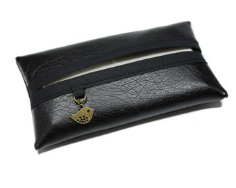 handkerchiefs in imitation leather with charm case