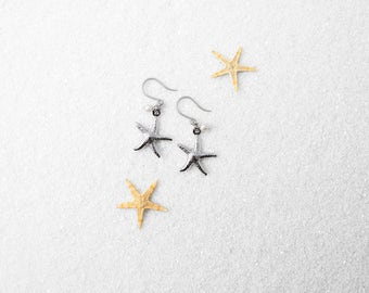 Hypoallergenic Silicone Starfish Earrings
