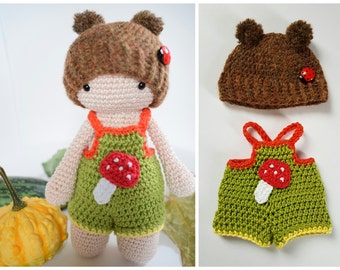 TAMITUZI crochet Bruno costume