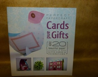 Perfect Papercraft Cards and Gifts Book 20 projects to make. VGC Book