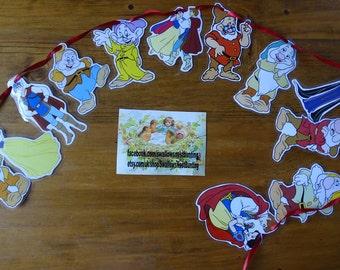 Snow White & the Seven Dwarfs Bunting