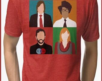 IT Crowd Tri-blend T-Shirt