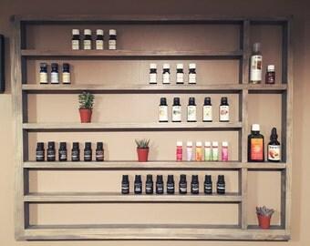 Essential Oils Shelf, Nail Polish Shelf, Wood Shelf