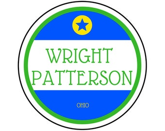 Wright Patterson AFB Sticker