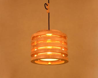 Wooden lighting Etsy