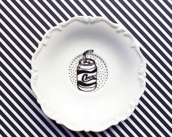 """Small plate collection """"80 's"""""""
