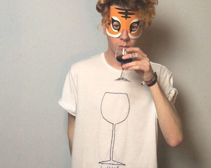 Wine (Tshirt bestickt)