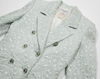 YVES SAINT LAURENT - lamin jacket