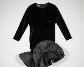PIERRE CARDIN - velvet dress