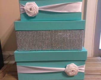 Tiffany card box Etsy