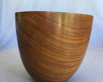 Walnut bowl (#109)