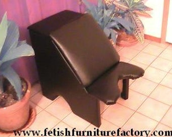 Mature: BDSM, Queening Chair, Queening Stool, Queening Throne, BDSM Toy, Face Sitting Chair, Dungeon, Sex Chair, Sex Toys, Erotic Furniture
