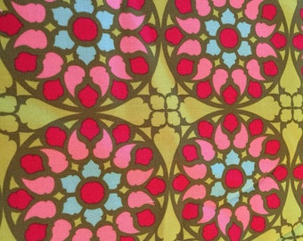 Quilt Fabric STAINED GLASS by Patty Young for Michael Miller DC 4129 Fabric Sewing Yardage 1/2 yard Mezzanines Collection