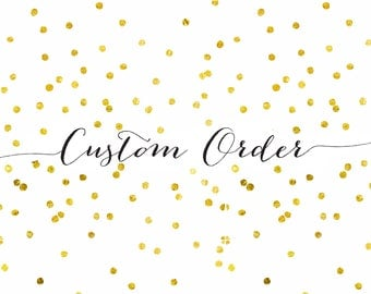 Custom Lion King Order