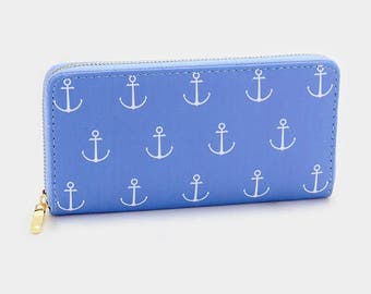 Anchor Wallet- Nautical collection