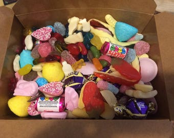 1kg of pick n mix sweets great for movie/cinema/sleepover nights