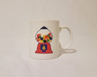 Mini Retro Gumball Machine Mug