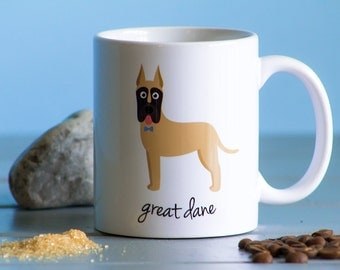 Great Dane Mug (cropped ears - boy)