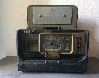 1951 Zenith Wave Magnet Trans-Oceanic Shortwave Radio Model H500  Antenna