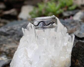 Silver Ring - Puma - Snake - Condor - Inca Symbol Ring - Silver Jewelry - Inca Jewelry - Peruvian Ring
