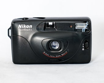 Nikon NiceTouch 2 Automatic 35mm Film Camera with Macro.