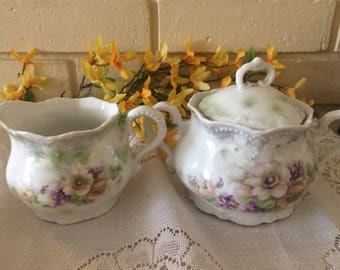 Vintage Creidlitz  sugar and creamer,Bavaria Germany.Fine China, Home and Living, Kitchen and Dining, kitchen and Serving,Collectibles,